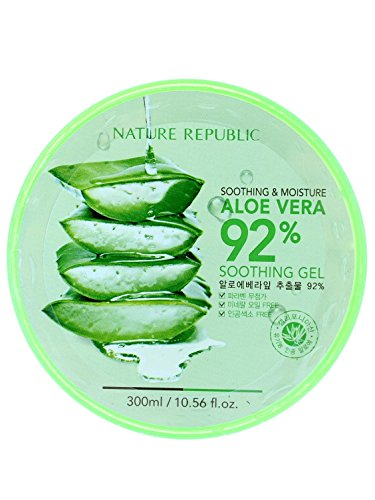 Natural Republic Aloe Vera Gel, 300ml, 10.56 Fluid (Aloe Vera Face Mask)
