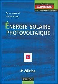 Energie solaire photovoltaïque par Anne Labouret