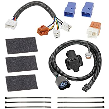 51LZYKLkrLL._SL500_AC_SS350_ amazon com tekonsha 118266 7 way tow harness wiring package  at n-0.co