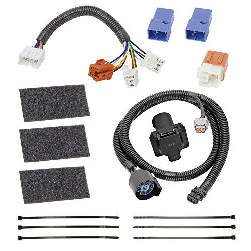 (Tekonsha 118266 7-Way Tow Harness Wiring Package)