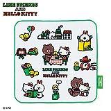 Sanrio LINE FRIENDS & Hello Kitty Puchitaoru Hello Kitty Town From Japan New