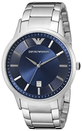 Emporio Armani Men's AR2477 Dress Silver Watch