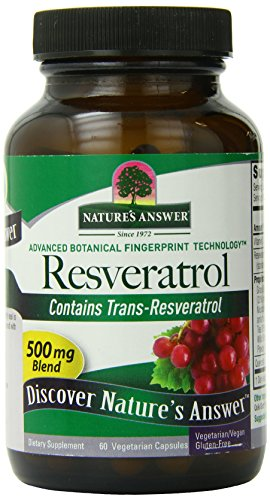 Nature's Answer Resveratrol 250 Mg, 60 Count (Pack of 6) by Nature's Answer