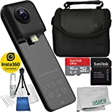 Insta360 Nano S 360 VR Camera, 4K HD 360 Degree Video Camera, Lifestyle Camera, 20MP Photos iPhone X, iPhone 8 Series, iPhone 7 Series, iPhone 6 Series Starters Bundle