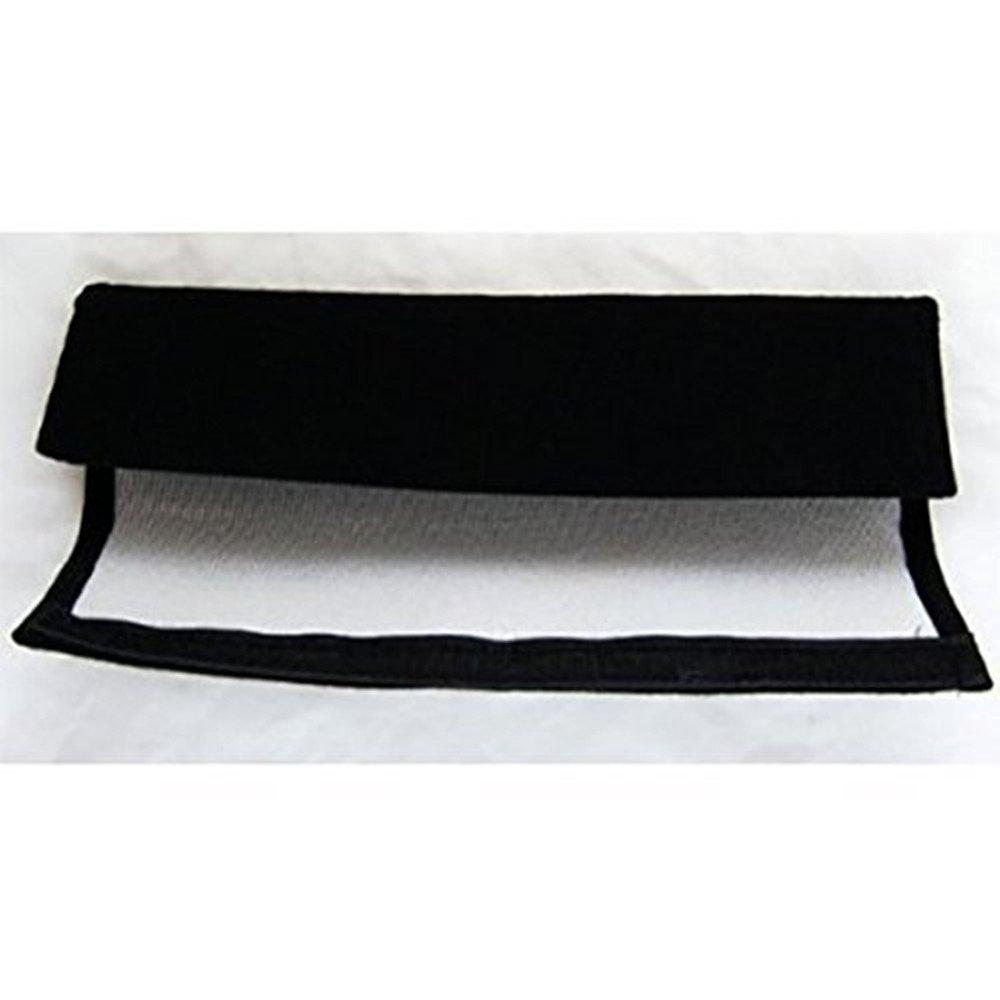 Amooca BMW Seat Belt Cover Shoulder Pad Red Lettering