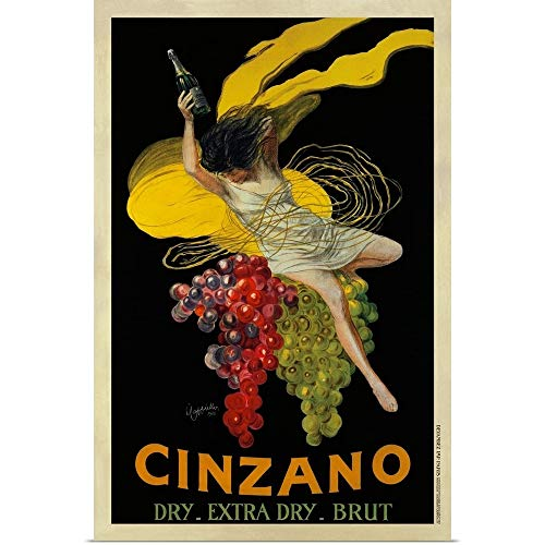 (GREATBIGCANVAS Poster Print Entitled Cinzano, 1920 by Leonetto Cappiello 8