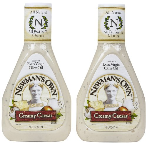 Newman's Own Creamy Ceasar Dressing , 16 Ounce , 2 Pack