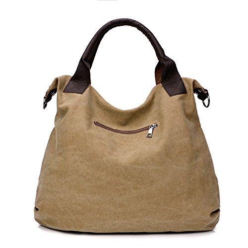 Bolsa Hombro Gran Casual Capacidad Bag Moda Retro B De Bolsos Messenger Simple Lona Solo Portátil Wild Mujeres Literario dfUqPwY