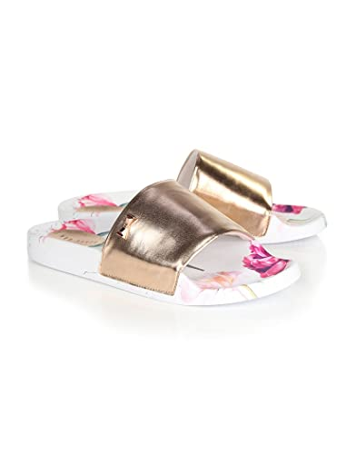 bfc3d9435fc28 Ted Baker Women s Armeana Pool Slider Sandals - Sketchbook - 7 ...