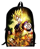 YOYOSHome Dragon Ball Z Anime Goku Cosplay BookBag Rucksack Backpack School Bag