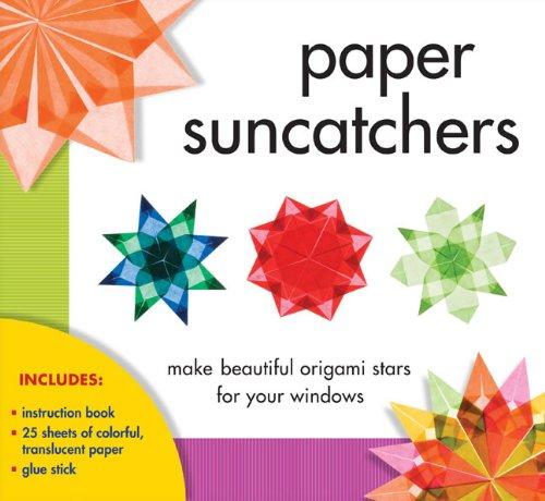Sterling Publishing Paper Suncatchers Kit Christine Gross Loh