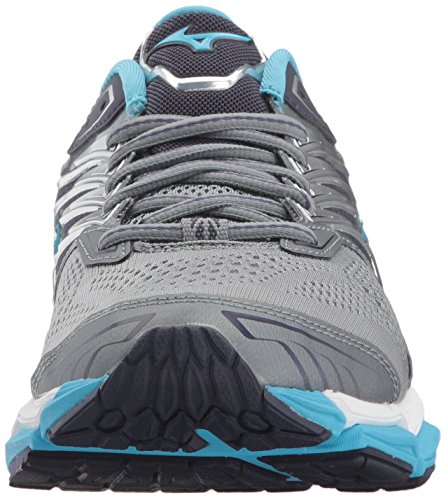 Mizuno Women's Wave Horizon 2 Running Shoe Monument/Aquarius countdown package sale online shop footlocker pictures sale online AWQHh