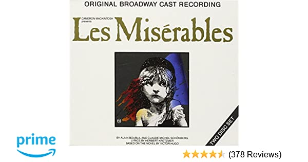On my own les miserables broadway lyrics