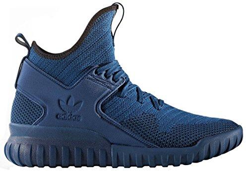 adidas Men's Tubular X Pk Gymnastics Shoes, Black Blue (Tecste/Tecste/Cblack Tecste/Tecste/Cblack)
