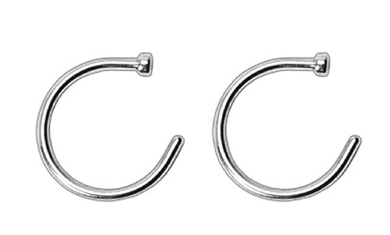Nose Rings Hoop 22 Gauge 3/8