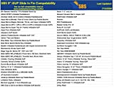 "Santa Barbara Surfing SBS 9"" iSUP Fin - Quick"
