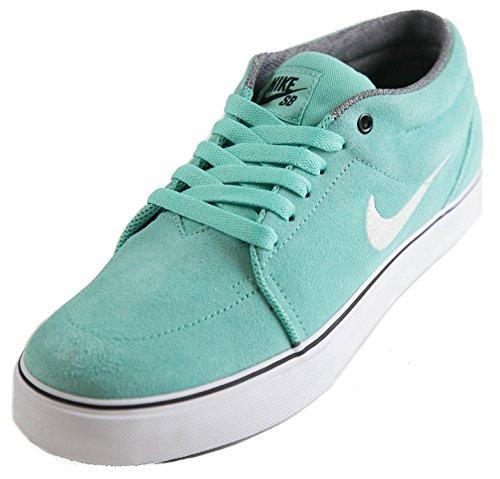 Nike Sb Satire Mid Mens Skateboarden 599081 310 Kristal Mint Wit Zwart