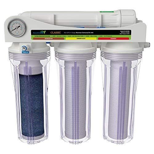 Image of Under-Sink & Countertop Filtration Aquatic Life Classic 50 GPD Reverse Osmosis (RO) & 100 GPD Reverse Osmosis/Deionization (RODI) Systems