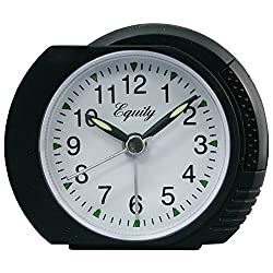 Equity by La Crosse 27001 Analog Alarm Clock with Ascending Alarm