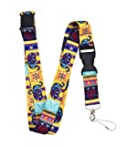 Colorful Elephant Premium Lanyard by Limeloot