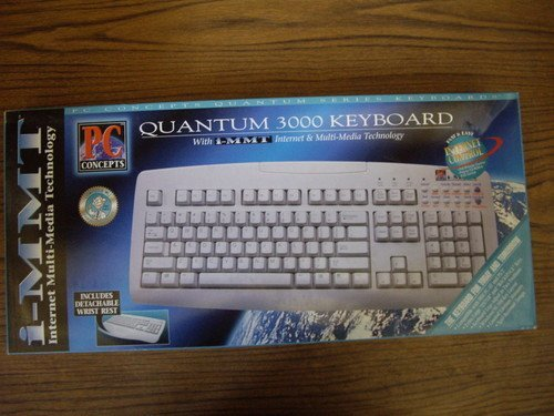 Wyse Ps/2 Keyboard - Quantam 3000 Keyboard - PS/2 AT Connection - Clicky - New in box