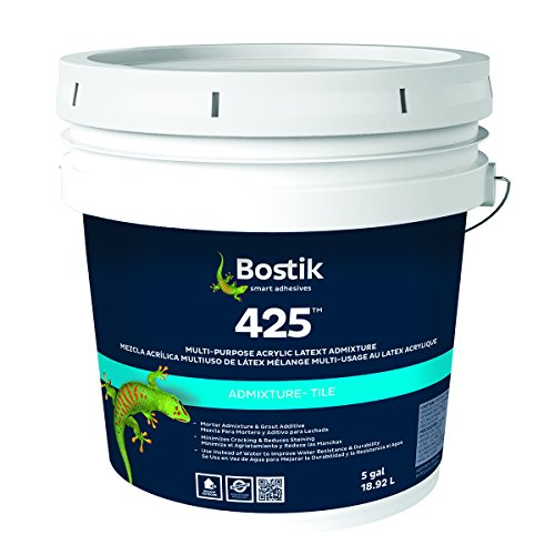 Bostik 425 Multi-Purpose Acrylic Latex Admixture (5 Gallons)