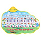 Russian Music Mat, Play Musical Mat Baby Animal Music Mat Alphabet Baby Play Mat Learning Mat Sounds Educational Children Learning Toy Crawling Carpet Gift