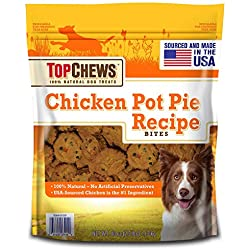 Top Chews Chicken Pot Pie Recipe Bites
