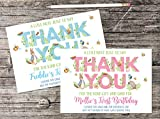 10 Personalised Peter Rabbit Beatrix Potter Thank You Cards Boy Girl Birthday