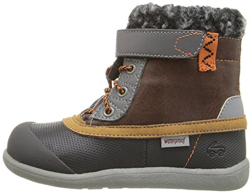 Pictures of See Kai Run Kids' Jack WP Hiking Boot Brown/Black 5T M US Boy 5