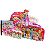 Shopkins 9 Piece Back to School Backpack Bundle