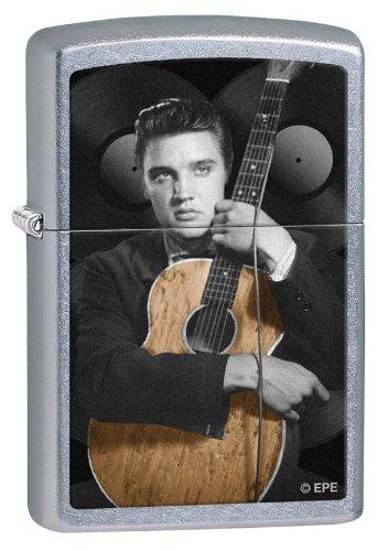 Zippo Elvis Guitar Street Chrome Lighter (Set of 6)