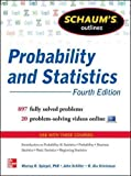 img - for Schaum's Outline of Probability and Statistics, 4th Edition: 897 Solved Problems + 20 Videos (Schaum's Outlines) book / textbook / text book