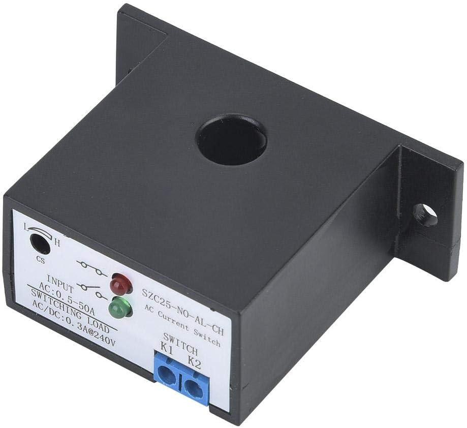 SZC25-NO-AL-C-H Commutateur de d/étection de Courant CA normalement Ouvert r/églable Entre 0,5 et 50 A Auto-aliment/é Wosume Commutateur de d/étection de Courant