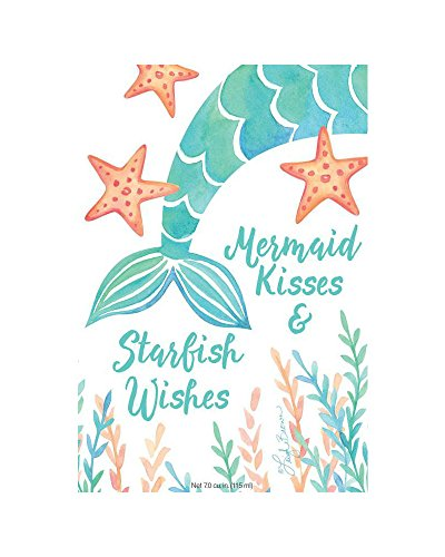 Fresh Scents Scented Sachets - Mermaid Kisses, Lot of 6 - Mermaid Drawer