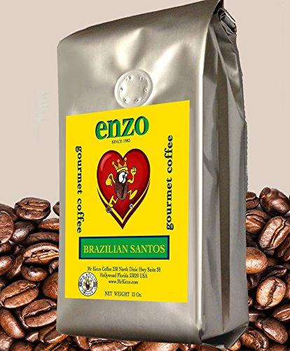 Enzo Brazilian Santos Coffee Beans - Pack of 5