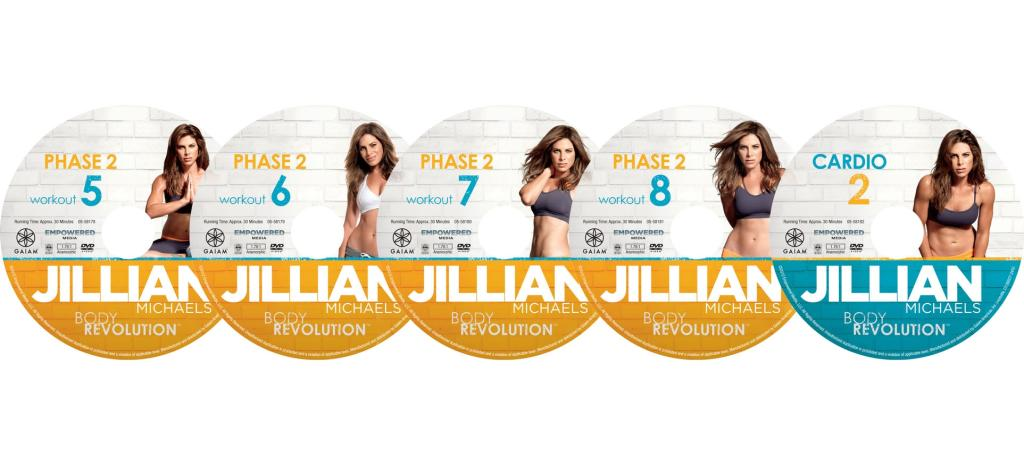 Amazon Com Jillian Michaels Body Revolution Exercise