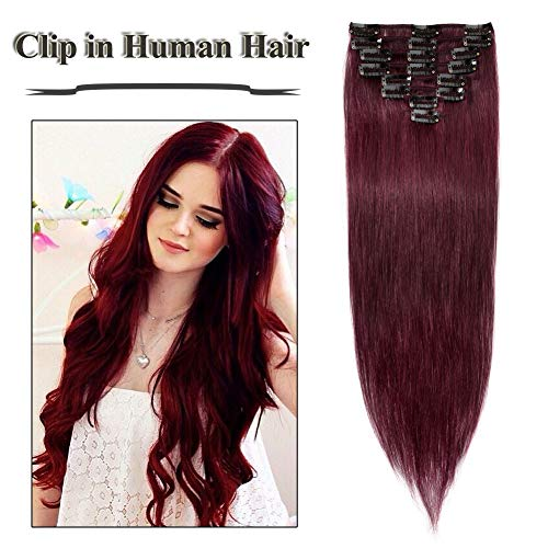 Top recommendation for hair extensions red human hair
