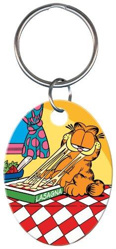 Garfield & Lasagna Keychain (KC-G2) -