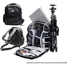 Professional All Weather Multi Purpose Photo/ Computer Laptop Backpack for Canon EOS Rebel