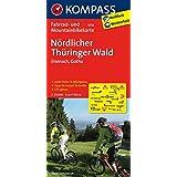 Nördlicher Thüringer Wald - Eisenach - Gotha: Fahrrad- und Mountainbikekarte. GPS-genau. 1:70000 (KOMPASS-Fahrradkarten Deutschland, Band 3076)