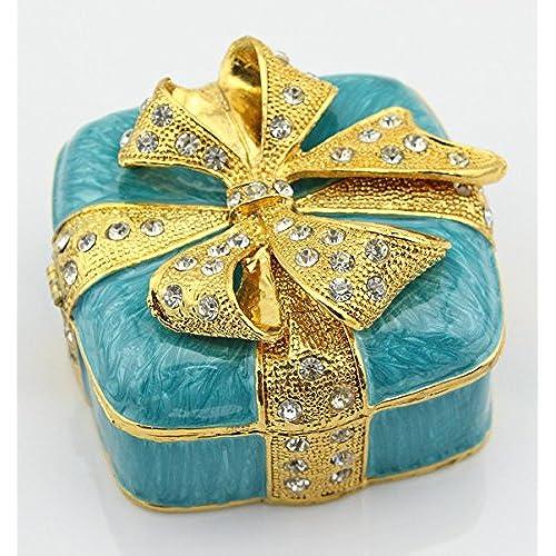 Amazon Small Decorative Boxes: Small Enamel Decorative Boxes: Amazon.com