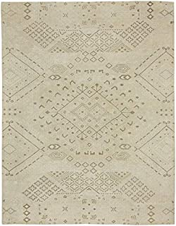 product image for Cannae Barley 8' x 10' Rectangle Hand Knotted Rug
