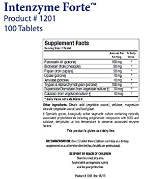 Biotics Research - Intenzyme Forte 100T