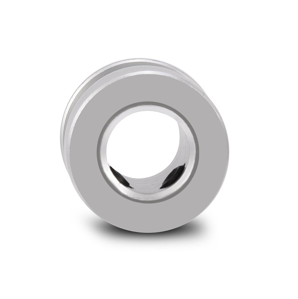 Haokaini 5 Pcs 20 Teeth GT2 Aluminum Alloy Timing Belt Pulley 5mm Synchronous Wheel for 3D Printer