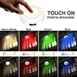 HONWELL Push Light RGB Lights Puck Lights with