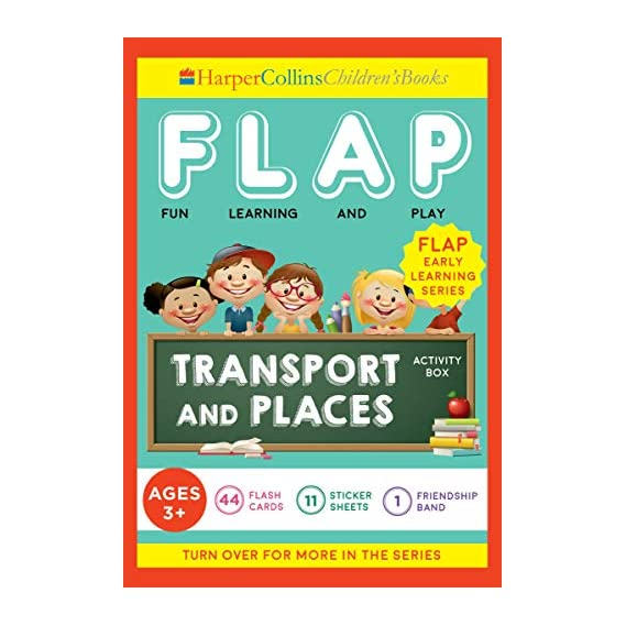 FLAP Transport and Places Activity Box, Blue