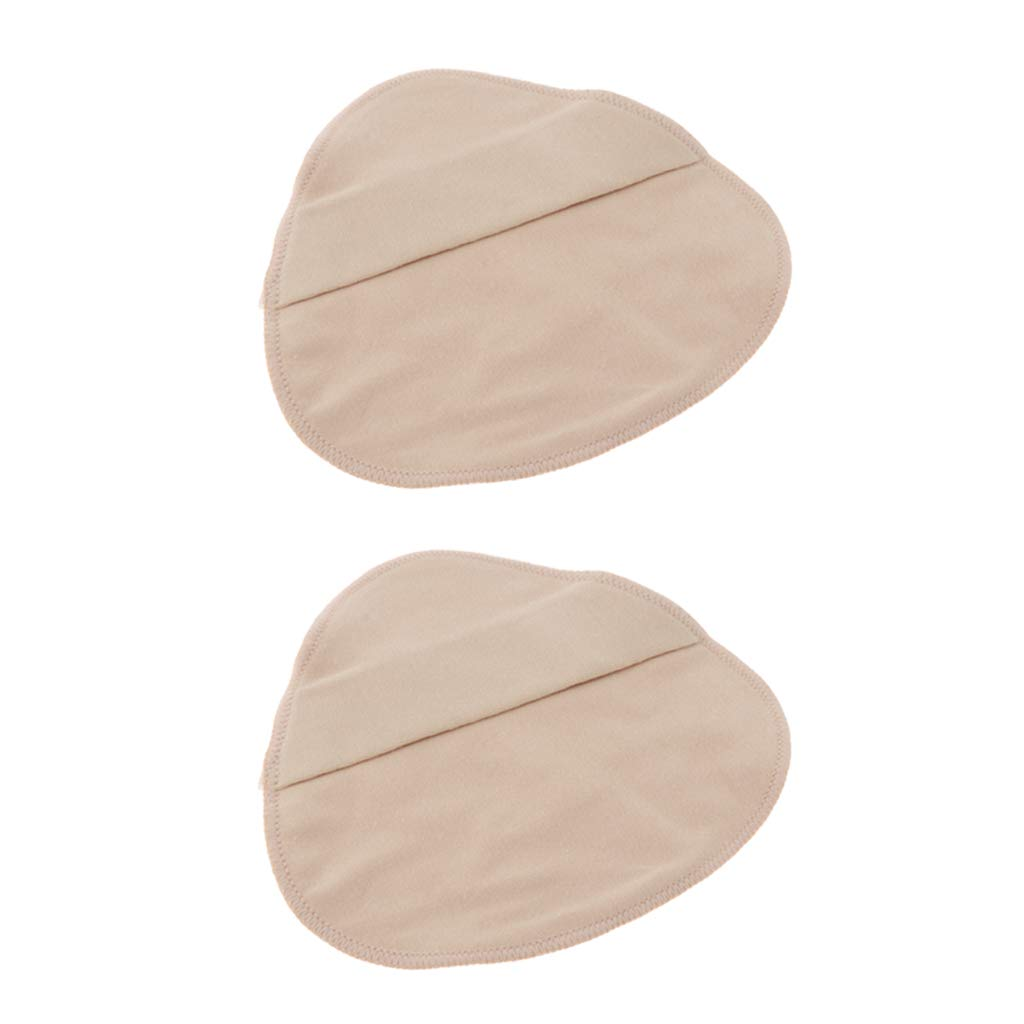 SM SunniMix 2 x Cotton Protect Pocket for Mastectomy Silicone Breast Forms Prosthesis Artificial Fake Boobs Cover Bags