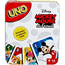 Mattel Uno Mickey Mouse and Friends Card Game