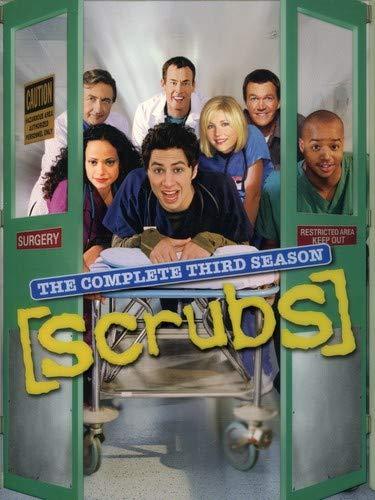 003 SCRUBS TV Show PHOTO Print POSTER Series Cast Zach Braff Donald Faison J.D
